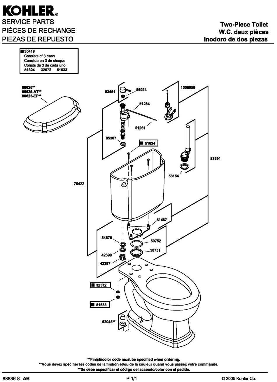 kohler shower plumbing diagram